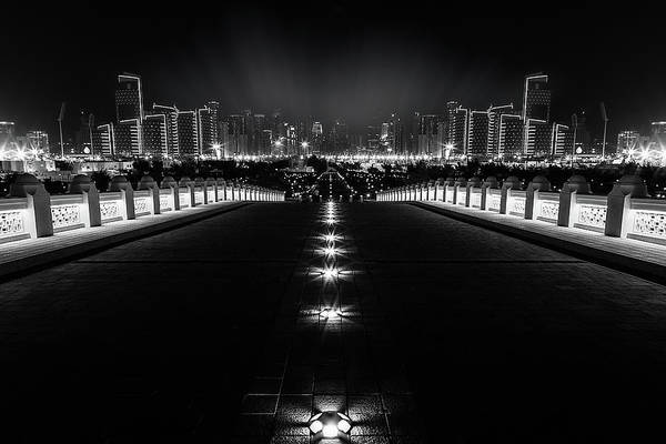 Avenue Wall Art - Photograph - Leading Light by Mohamed Sabry