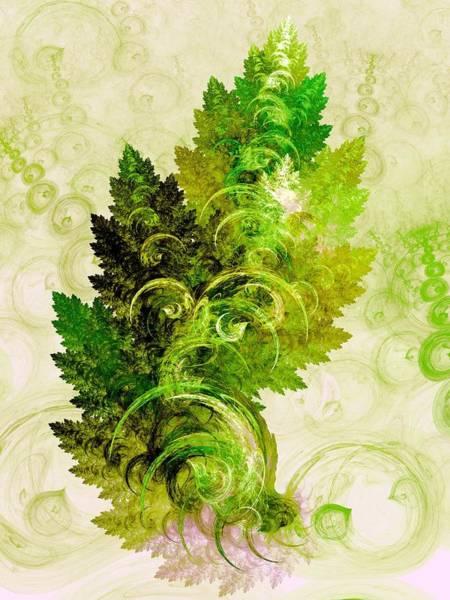 Essence Digital Art - Leaf Reflection by Anastasiya Malakhova