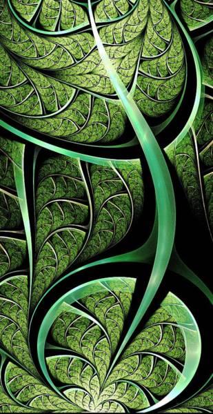 Digital Art - Leaf Texture by Anastasiya Malakhova