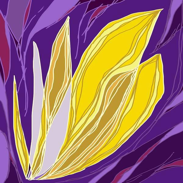 Digital Art - Leaflet's Descent by Laureen Murtha Menzl