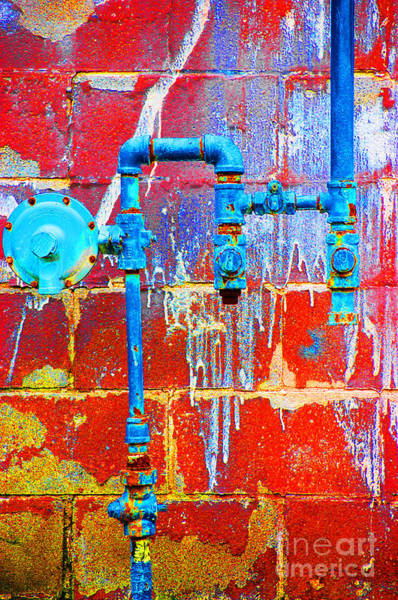 Darkside Photograph - Leaky Faucet by Christiane Hellner-OBrien