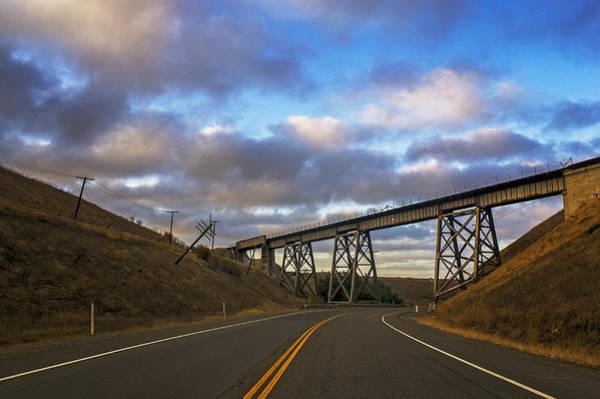 Anglin Wall Art - Photograph - Lean-to Bridge by Nathan Anglin