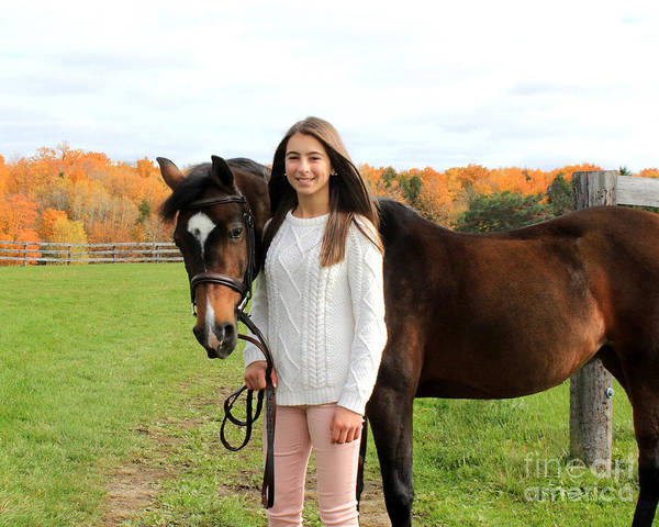 Photograph - Leanna Abbey 10 by Life With Horses