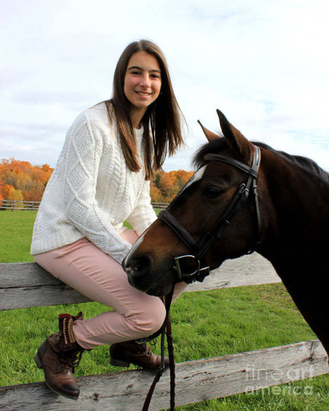 Photograph - Leanna Abbey 12 by Life With Horses