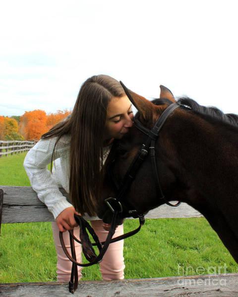 Photograph - Leanna Abbey 13 by Life With Horses