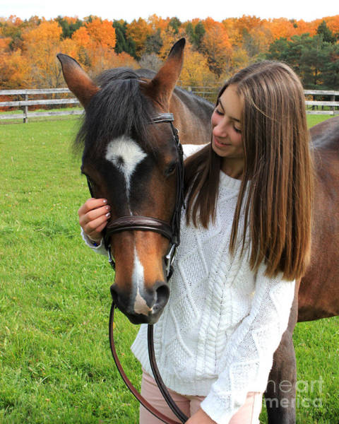 Photograph - Leanna Abbey 15 by Life With Horses