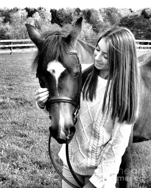 Photograph - Leanna Abbey 16 by Life With Horses