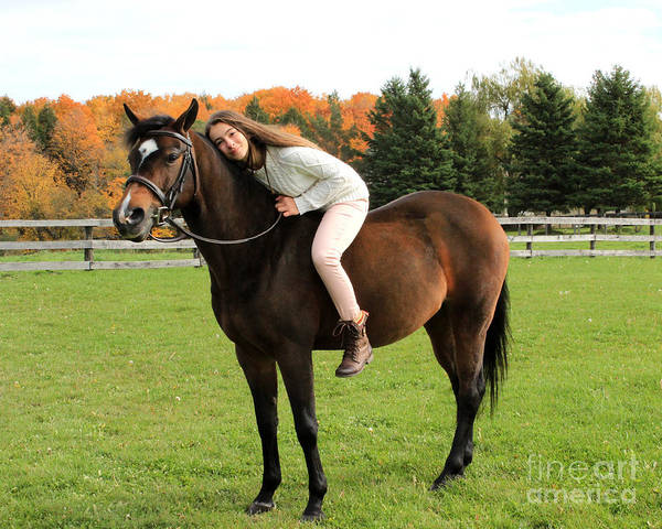 Photograph - Leanna Abbey 19 by Life With Horses
