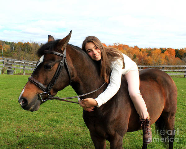Photograph - Leanna Abbey 20 by Life With Horses