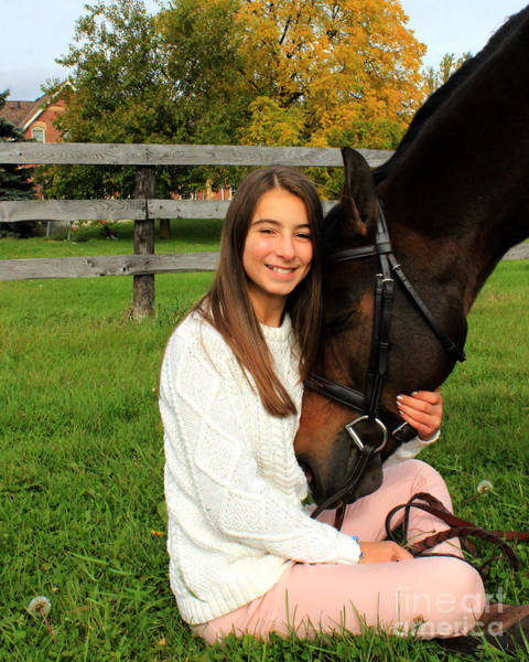 Photograph - Leanna Abbey 22 by Life With Horses