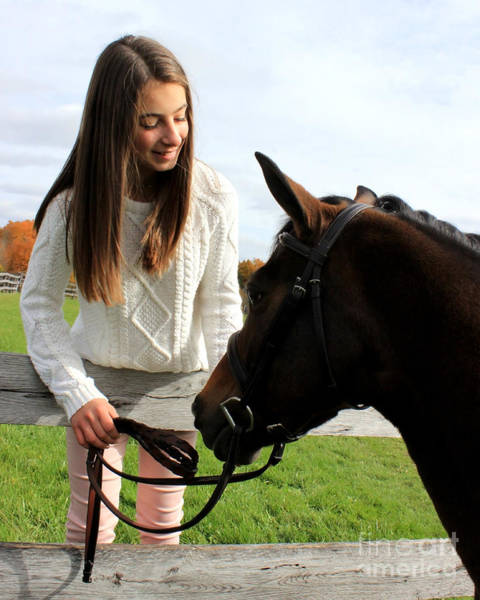 Photograph - Leanna Abbey 14 by Life With Horses