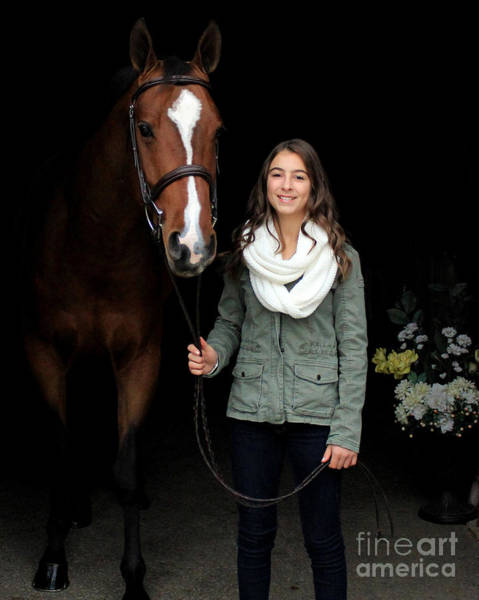 Photograph - Leanna Gino 1 by Life With Horses