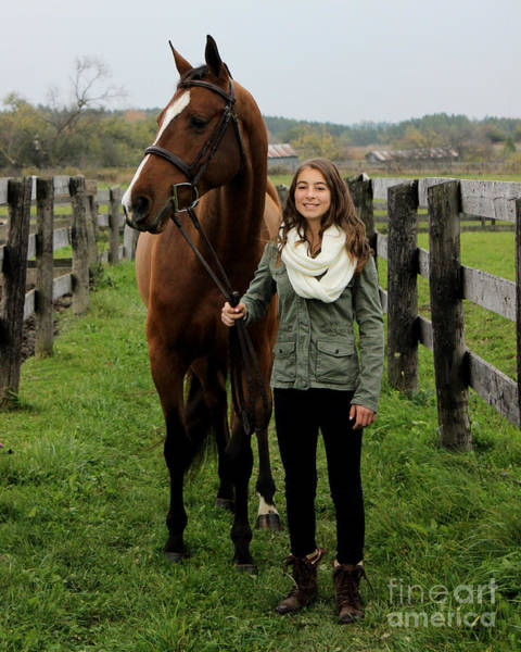Photograph - Leanna Gino 10 by Life With Horses
