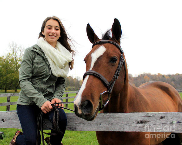 Photograph - Leanna Gino 11 by Life With Horses