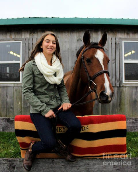 Photograph - Leanna Gino 13 by Life With Horses