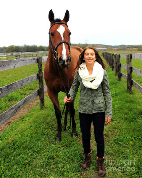 Photograph - Leanna Gino 16 by Life With Horses