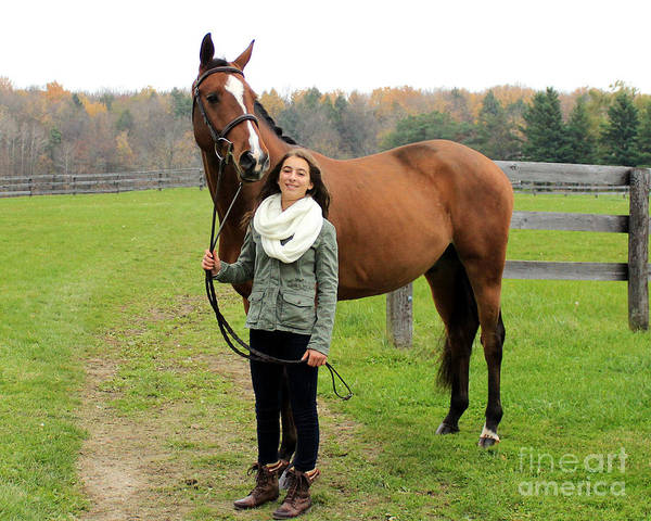 Photograph - Leanna Gino 17 by Life With Horses