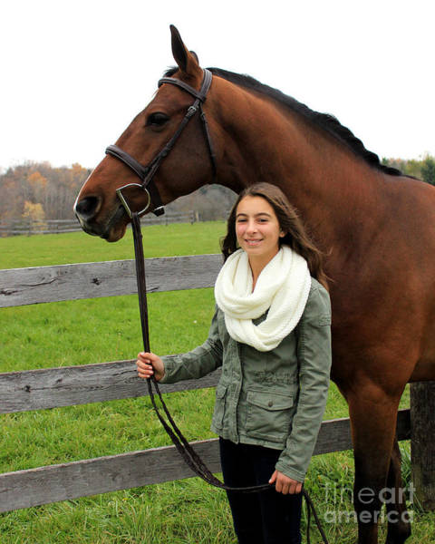 Photograph - Leanna Gino 18 by Life With Horses