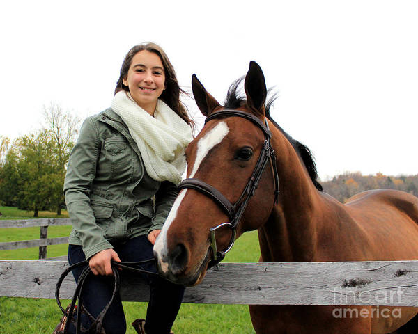 Photograph - Leanna Gino 19 by Life With Horses