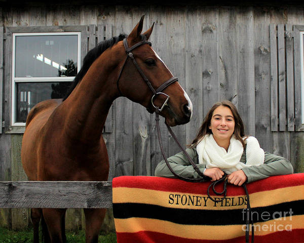 Photograph - Leanna Gino 21 by Life With Horses