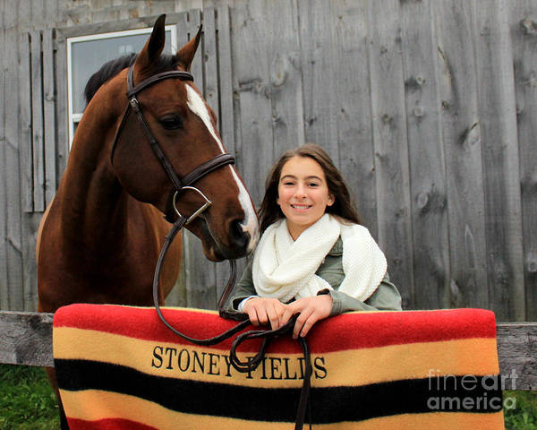 Photograph - Leanna Gino 22 by Life With Horses