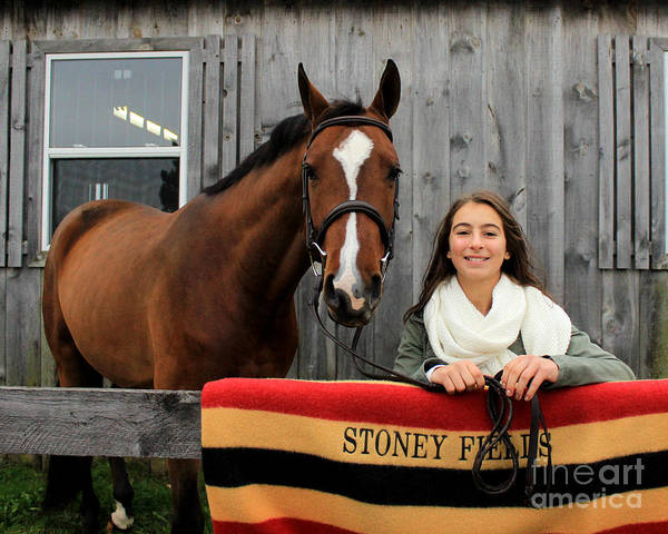 Photograph - Leanna Gino 23 by Life With Horses