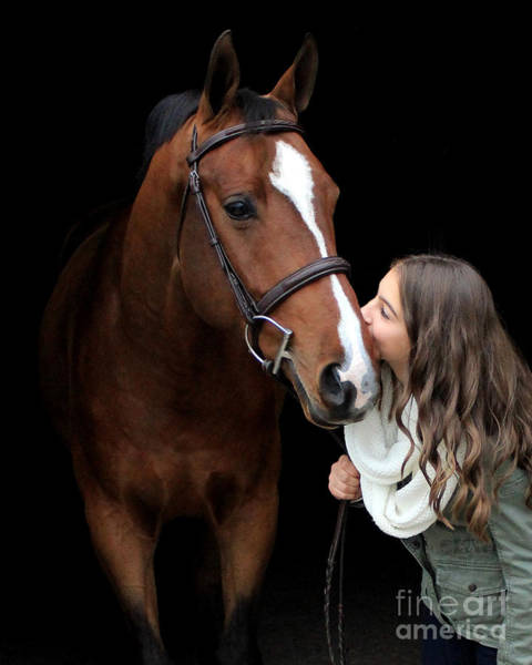 Photograph - Leanna Gino 3 by Life With Horses