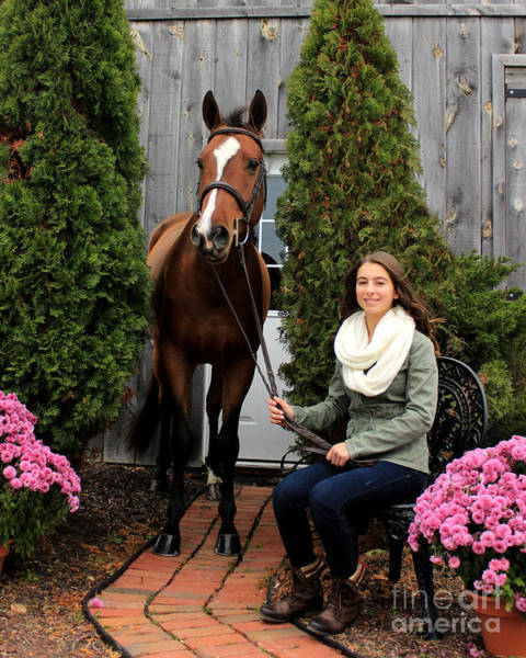 Photograph - Leanna Gino 5 by Life With Horses