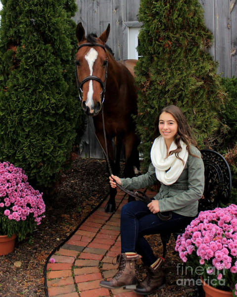 Photograph - Leanna Gino 6 by Life With Horses