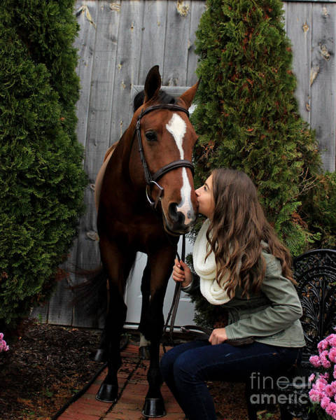 Photograph - Leanna Gino 7 by Life With Horses