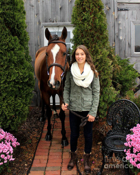 Photograph - Leanna Gino 8 by Life With Horses