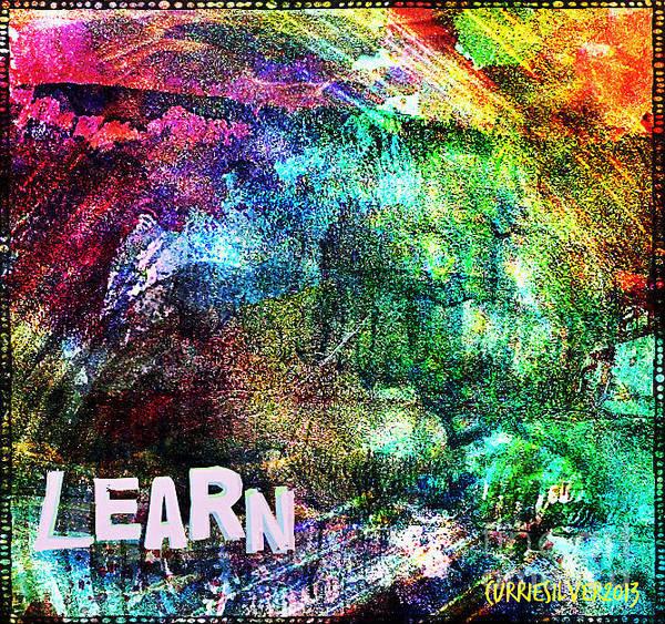 Wall Art - Digital Art - Learn by Currie Silver