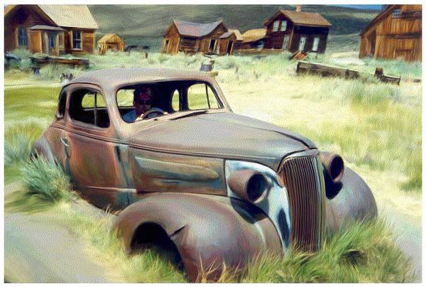 Bodie Digital Art - Leaving Bodie by Snake Jagger