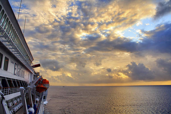 Photograph - Leaving Cozumel Behind by Jason Politte