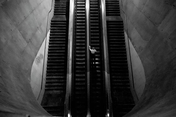 Underground Photograph - Leaving The Earth Entrails by Fernando Alves