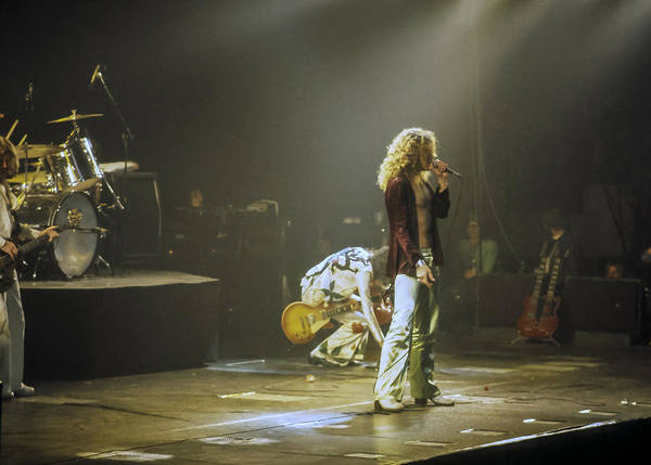 Jimmy Page Photograph - Led Zeppelin 2 by Joe  Gliozzo
