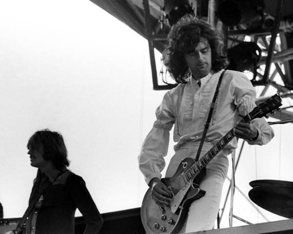 Photograph - Led Zeppelin Live by Larry Hulst