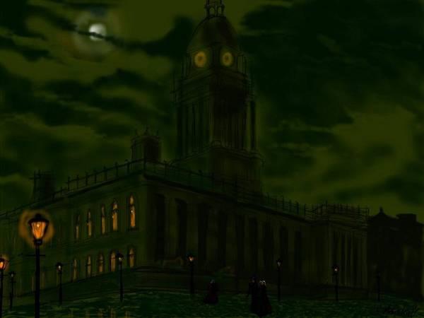 Painting - Leeds Town Hall by Glenn Marshall
