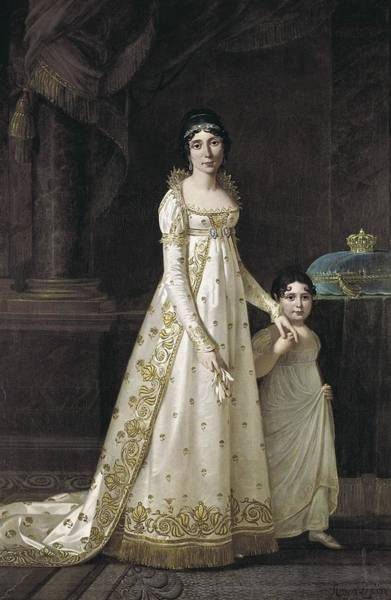 Wall Art - Photograph - Lefevre, Robert 1755-1830. Marie-july by Everett