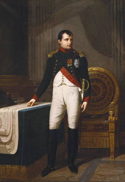 Wall Art - Photograph - Lefevre, Robert 1755-1830. Portrait by Everett