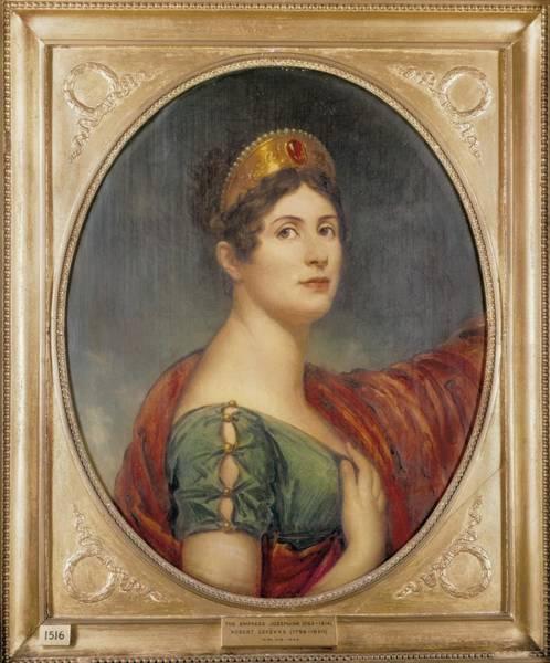 Wall Art - Photograph - Lefevre, Robert 1755-1830. The Empress by Everett