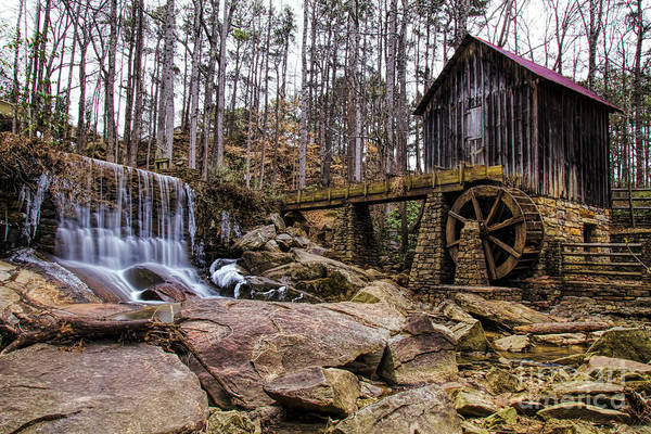 Photograph - Leflers Mill by Barbara Bowen