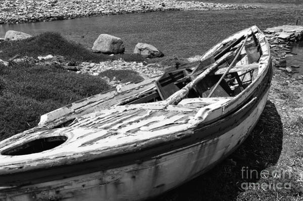 Photograph - Left Behind On Delos Mono by John Rizzuto