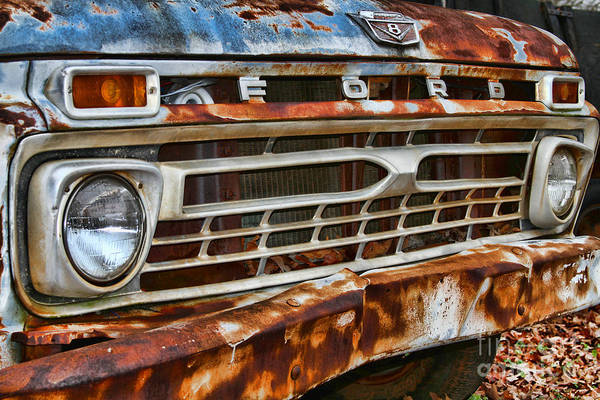 Photograph - Left To Rust By Diana Sainz by Diana Raquel Sainz
