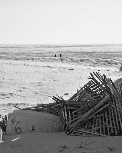 Photograph - Leftovers From Hurricane Sandy by Trish Tritz