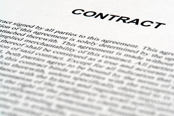 Official Photograph - Legal Contract by Olivier Le Queinec