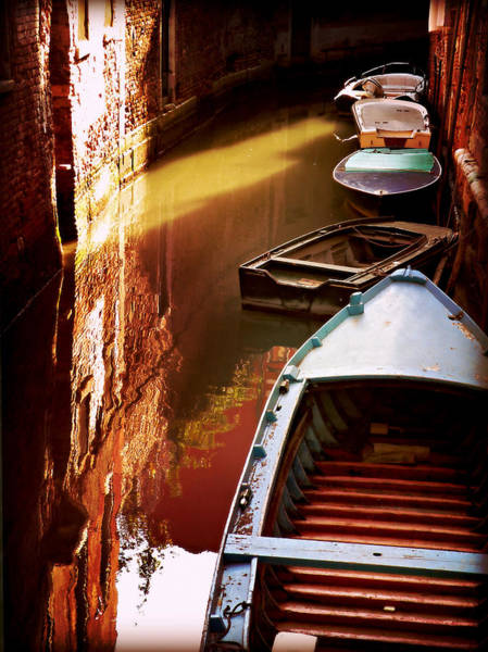 Photograph - Legata Nel Canale by Micki Findlay