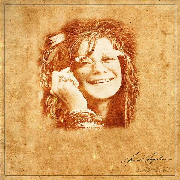 Janis Joplin Photograph - Legends 5 by Andrew Fare