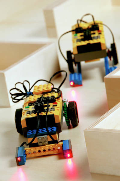 Wall Art - Photograph - Lego Robots by Mauro Fermariello/science Photo Library