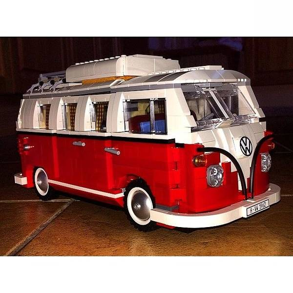 Vw Camper Photograph - Lego Vw  #lego #vw #campervan by Mike Smith